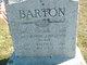 Minnie J. <I>Hall</I> Barton