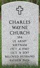 Charles Wayne Church