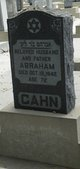 Profile photo:  Abraham Cahn