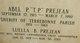 "Profile photo:  Abel Philip ""T.P."" Prejean"