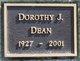 Dorothy J Dean