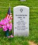 Profile photo:  Randolph Abel, Sr