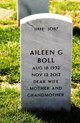 Profile photo:  Aileen Gertrude <I>Schneider</I> Boll