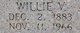 """Willie Vessie """"Babe"""" Horne"""