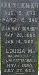 "Profile photo:  Adolphus Frederick ""Adolph"" Bomhoff"