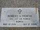 """Robert Arnold """"Bobby"""" Horne"""