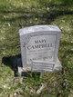 Mary <I>White</I> Campbell