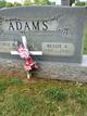 Profile photo:  Bessie Greer <I>Aikin</I> Adams