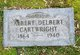 Profile photo:  Albert Delbert Cartwright