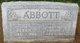 "Sophia ""Sophie"" <I>Schroder</I> Abbott"
