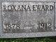 Roxanna <I>Thornburg</I> Eward