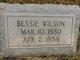 Profile photo:  Bessie Wilson Hartigan