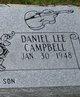 Profile photo:  Daniel Lee Campbell