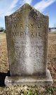 Mary Jane <I>Alford</I> McPhail