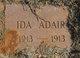Profile photo:  Ida Adair