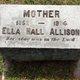 Ella <I>Hall</I> Allison