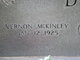 Vernon McKinley Dull