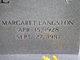 Margaret <I>Langston</I> Dull