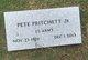 Pete Pritchett Jr.