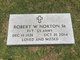 "Rev Robert Wade ""Bob"" Norton"