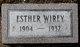 Profile photo:  Esther M <I>Switzer</I> Wirey