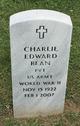Profile photo:  Charlie Edward Bean