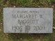 Profile photo:  Margaret W <I>Polk</I> Baggott