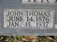 Profile photo:  John Thomas Anderson