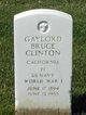Gaylord Bruce Clinton