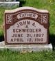 John A Schwedler
