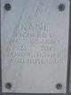 "Profile photo:  Richard Dean ""Dick"" Kane"