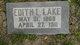 Edith L. <I>Hart</I> Lake