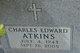"Profile photo:  Charles Edward ""Charlie"" Atkins"