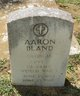 Profile photo:  Aaron Bland