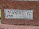 Maxine V. <I>Andrews</I> Albright