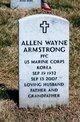 Profile photo:  Allen Wayne Armstrong