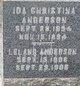 Ida Chrostona Anderson