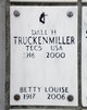 "Elizabeth Louise ""Betty"" <I>Metcalf</I> Truckenmiller"