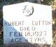 Profile photo:  Robert Cotton