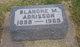 Blanche M <I>Clark</I> Adkisson