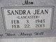 "Profile photo: Mrs Sandra Jean ""Sandy"" <I>Lancaster</I> Allen"