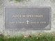 Alice Pearl <I>Mecum</I> Speechley