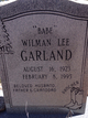 Wilman Lee Garland