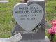 Doris Jean <I>Williams</I> Gipson