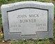 Profile photo:  John Mack Bowyer