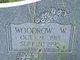 Profile photo:  Woodrow Wilson Brownlee