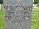 """Profile photo:  Ada Ruth """"Addie"""" Mickle"""