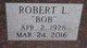 """Robert L """"Bob"""" Fischer"""