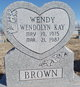 "Profile photo:  Wendolyn ""Wendy"" Brown"