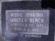 Annie Mariah <I>Wagner</I> Black